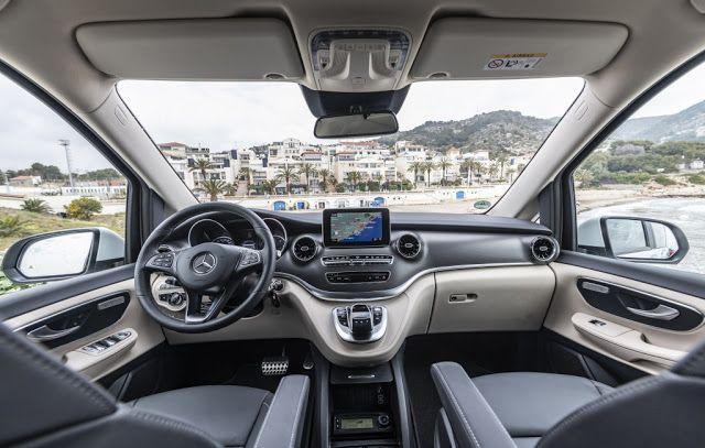 2020 Mercedes Benz Marco Polo 300 D Crystal White Metallic Exterior Interior Driving