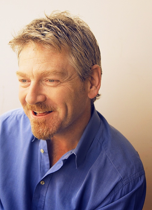 Kenneth Branagh: I want run my fingers through his hair while he quotes Shakespeare to me...