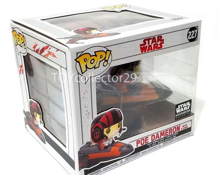 Funko Poe Dameron with X-wing #227 Smugglers bounty Star wars xwing funkopop #FunkoPOP