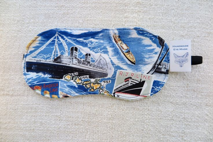 A personal favourite from my Etsy shop https://www.etsy.com/au/listing/583719505/eye-mask-sleeping-mask-travelling-eye