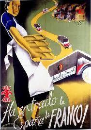 Spain - 1936-39. - GC - poster - La España de Franco (Bando Nacional)