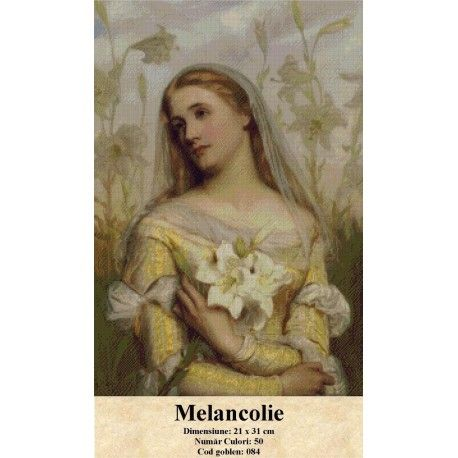 Goblen Melancolie http://set-goblen.ro/portrete/3733-melancolie.html