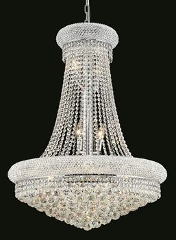 Elegant Lighting's range of chandeliers has always been the very definition of quality. And you can own quality with the Elegant Lighting 1800D28C/RC Chandeliers Primo 14-Light Chrome in your own home. Call 888-752-5448 and Get the Lowest Price in the Market.