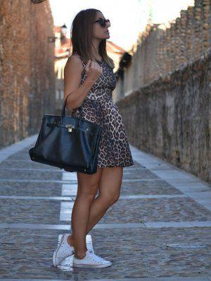 misspeonies Outfit  estampado leopardo converse  Verano 2013. Cómo vestirse y combinar según misspeonies el 28-8-2013
