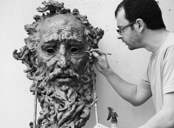 Nebuchadnezzar, Aidan Harte, 2012 #sculpture #harte