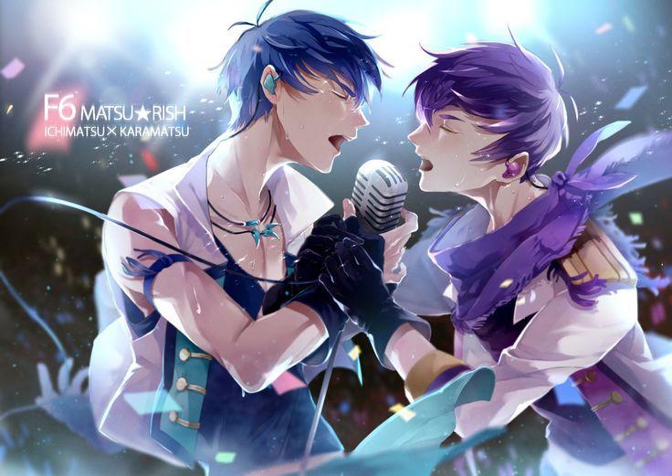 Queeeee!!!!! hermoso karamatsu x ichimatsu