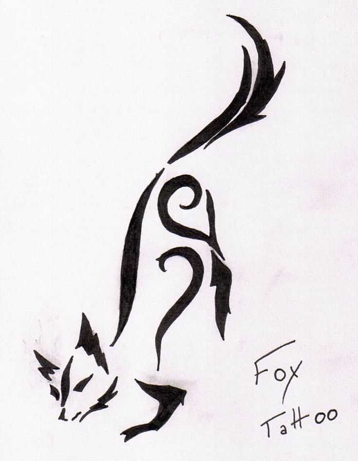 60 Best Fox Tattoo Images On Pinterest Fox Tattoos Foxes And Fox