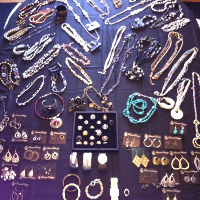 Premier Designs Jewelry Table 2012