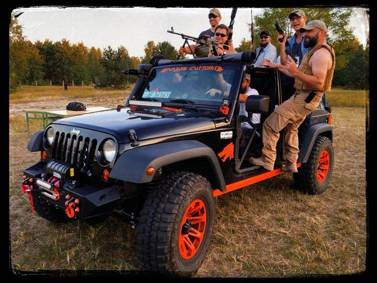 Jeep & gun military piknik