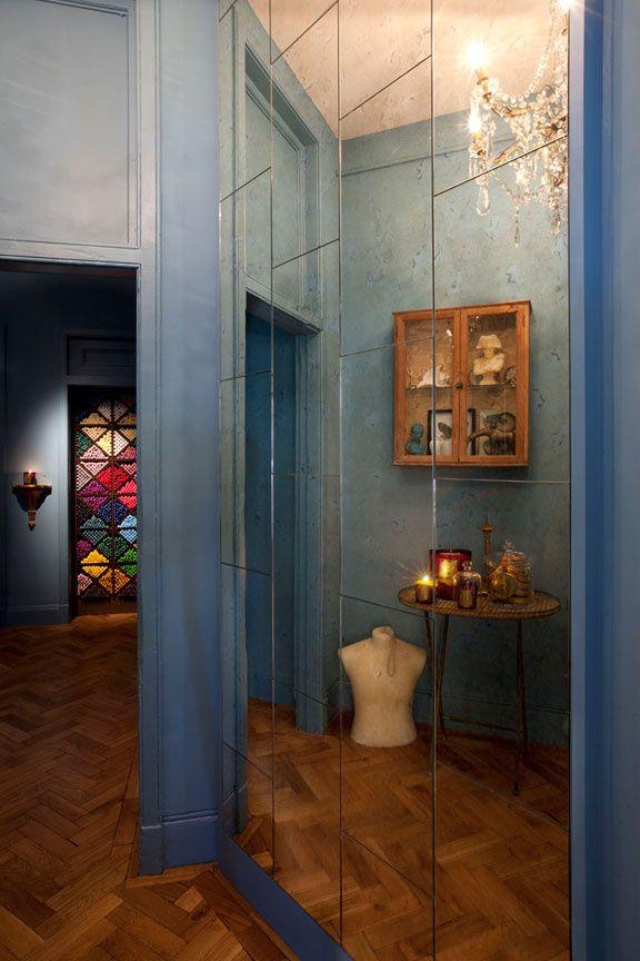 cire Trudon London  jeu de miroirs