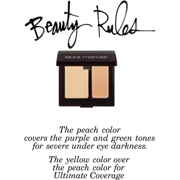 """Beauty Rules - Concealer"" Laura Mercier Concealer"