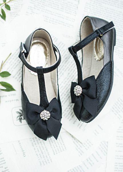 Designer childrens shoes by Joyfolie Gemma in Black Shoes for girls in New Zealand   Return To Eden Children's Boutique
