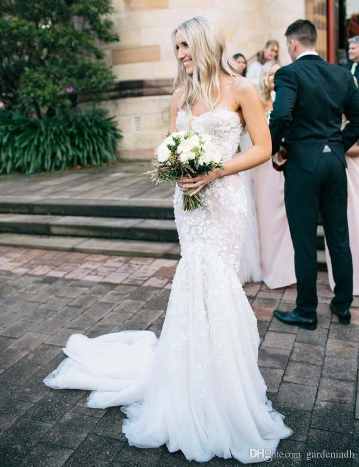 17 best images about a true love story never ends on for Steven khalil mermaid wedding dress