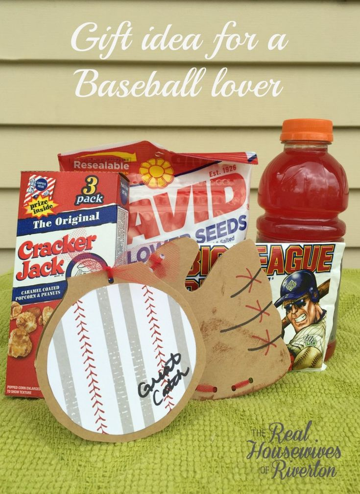 Baseball lover gift idea gift and craft for Gift ideas for craft lovers