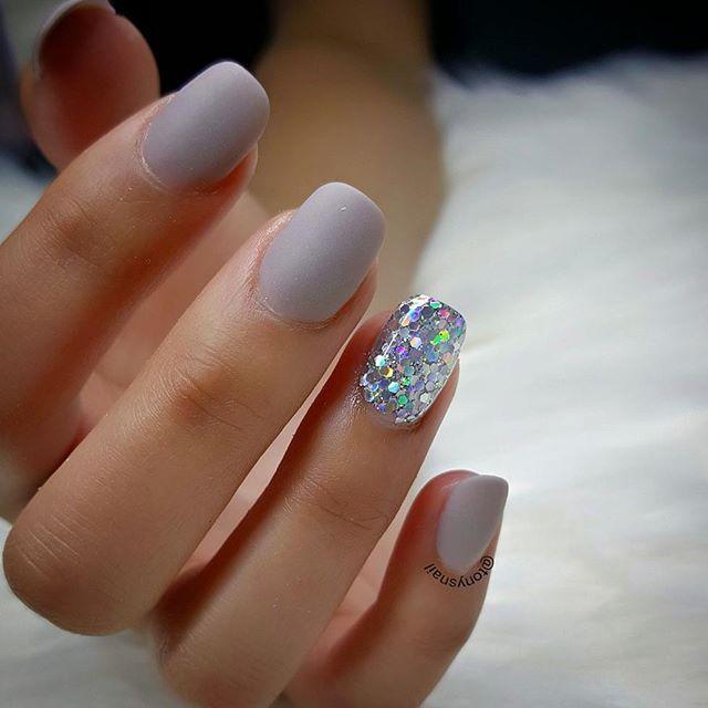 Best 25+ Grey matte nails ideas on Pinterest | Matt nails ...