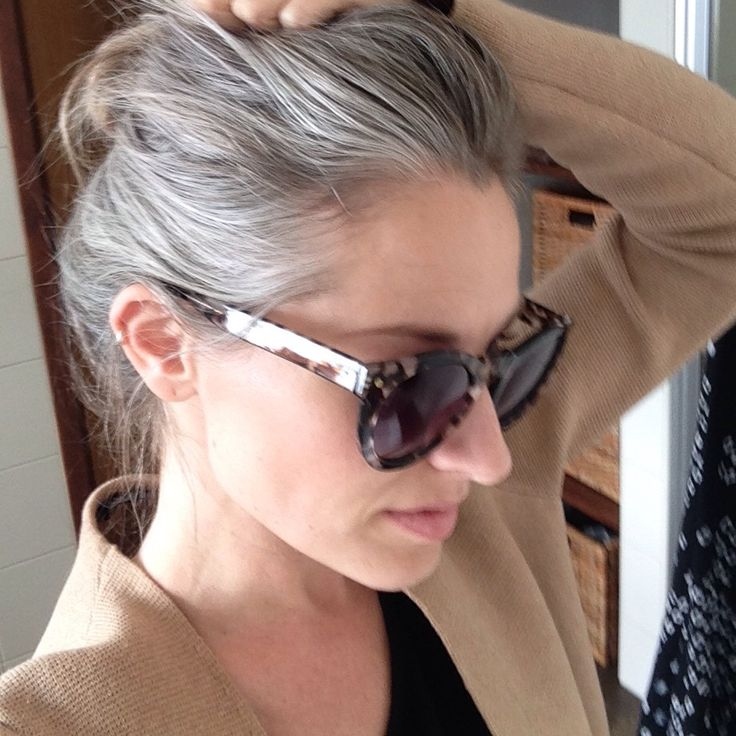 Grey is the new blonde | 16 months | New shades. wow, fantastic. well done. I just kept cutting, trimming and sometimes did feel like giving up, only once or twice now I love it! Grey is fabulous and so liberating! KMW