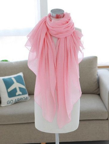 Trendy Solid Color Scarf – teeteecee - fashion in style