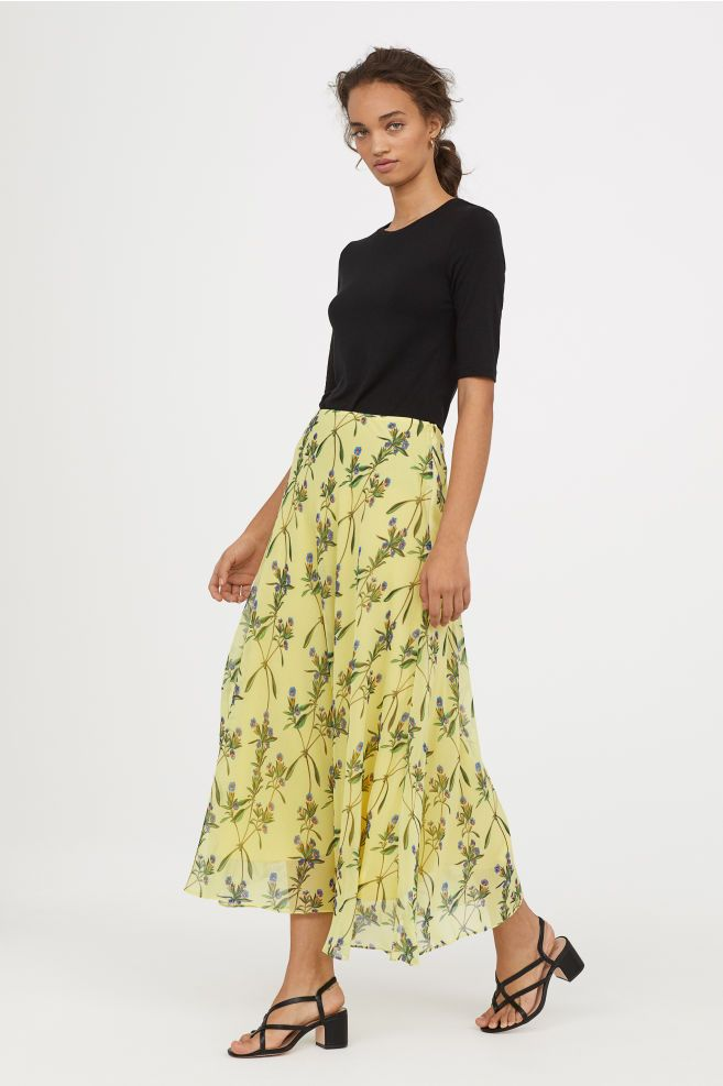 a5180c438b5 Circle Skirt in 2019 | Fashion | Skirts, H&m fashion, H&m