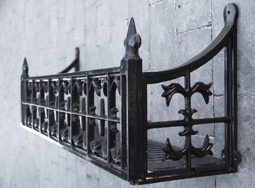 wrought iron window boxes - Google Search