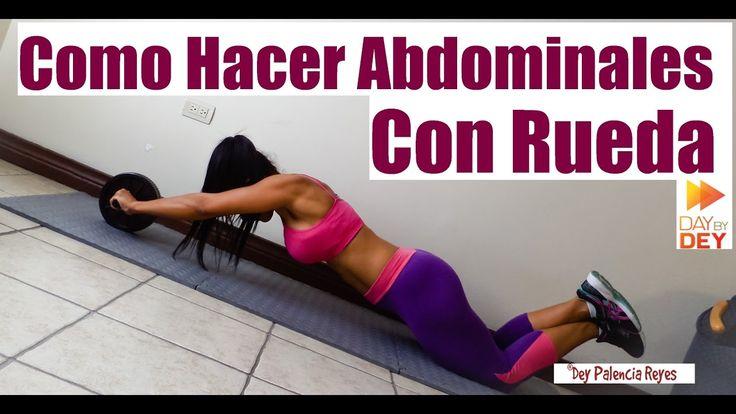 COMO HACER ABDOMINALES CON RUEDA - Rueda Abdominal -