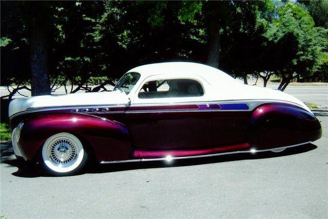 1941 Lincoln Zephyr   Die heißesten Muskelmaschinen: Oldtimer, Muskelautos und Truc …   – American Custom Cars