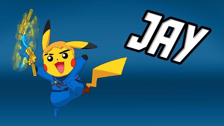 Ninjago as Pokemon: Jay Intro by BlazeraptorGirl.deviantart.com on @DeviantArt