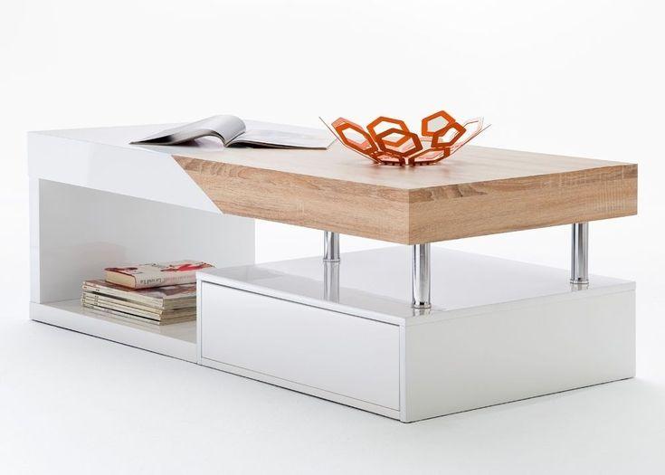 Die besten 25+ Couchtisch mit Schubladen Ideen auf Pinterest - wohnzimmertisch wei rund