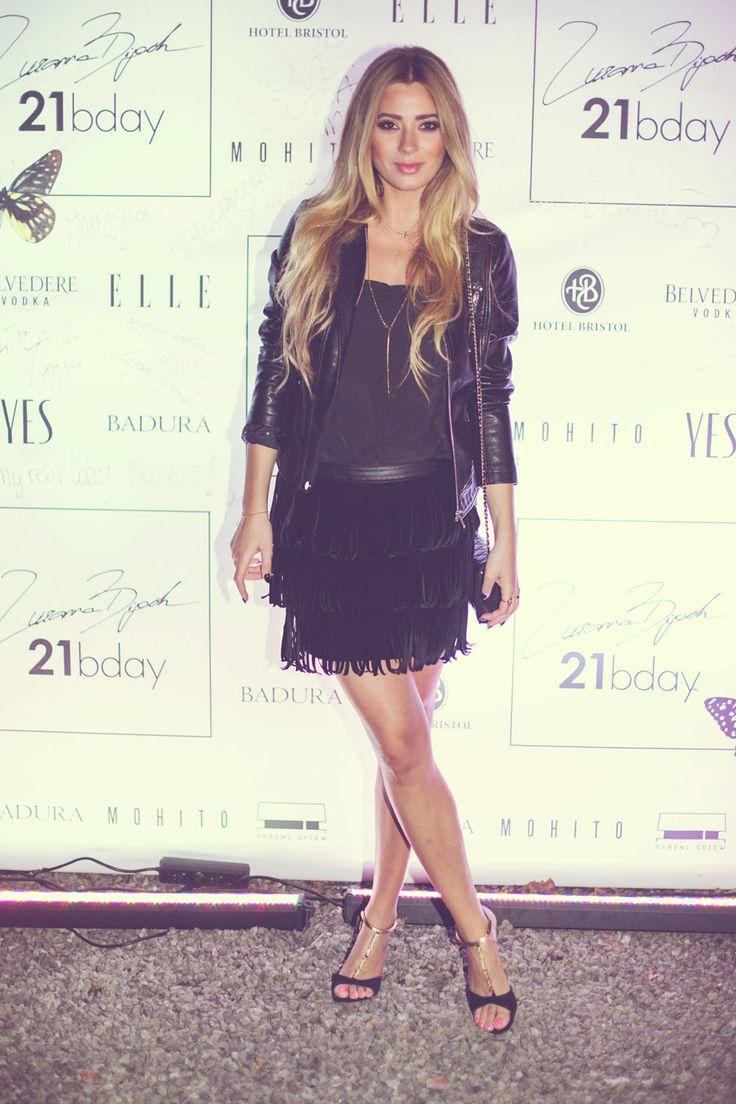 Miss Polonia Marcelina Zawadzka and her Mohito total look