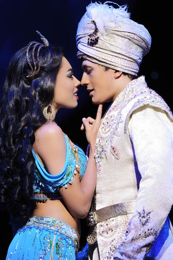"A behind-the-scenes tour of the musical ""Aladdin"" in the West End."