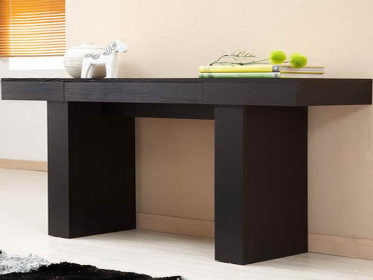 17 best ideas about extra long console table on pinterest wall behind couch table behind. Black Bedroom Furniture Sets. Home Design Ideas