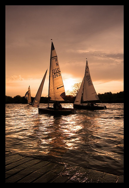 Sailing Boats; Holme Pierrepont by Christopher Terry Photography, via Flickr