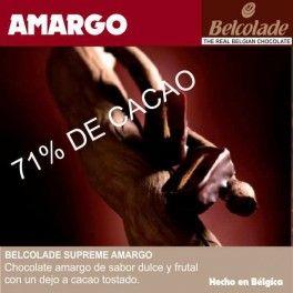 Categoría: Chocolates - Producto: Chocolate Cobertura Amargo Para Templar - Envase: Paquete - Presentación: X   1 Kg - Marca: Belcolade