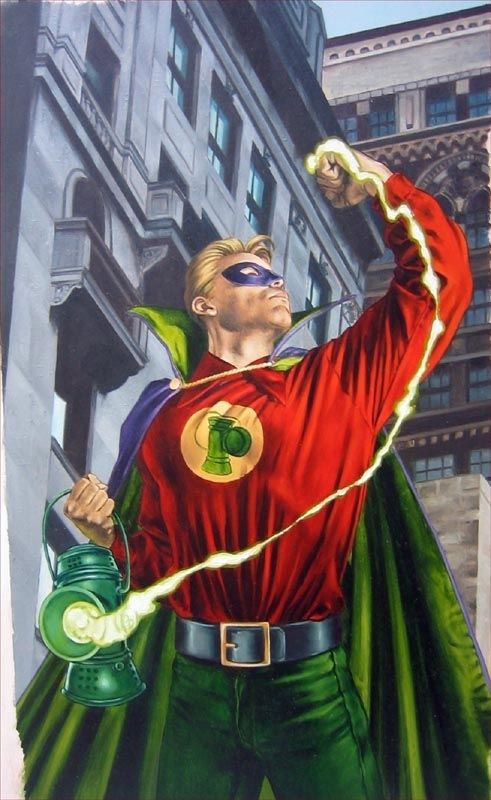 Green Lantern Sleepers Book 2 cover Comic Art