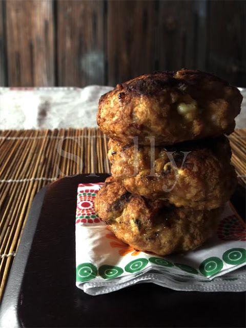 SLELLY: POLLETA - Mini hamburger di pollo con feta
