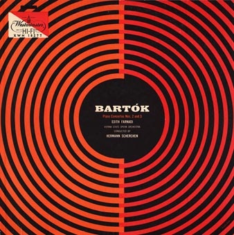 Bartok Record Cover