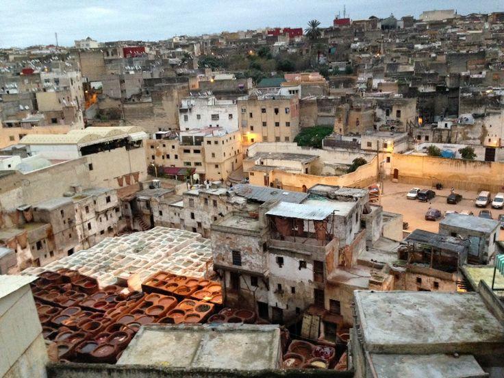 Leerlooierij Medina Fez