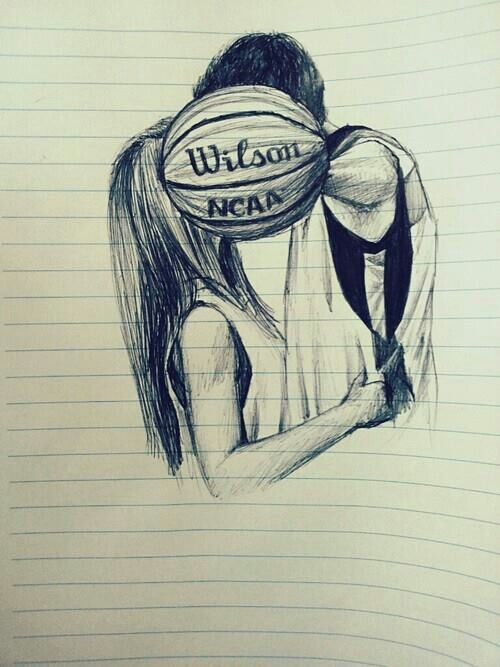 Aww basketball couple!!