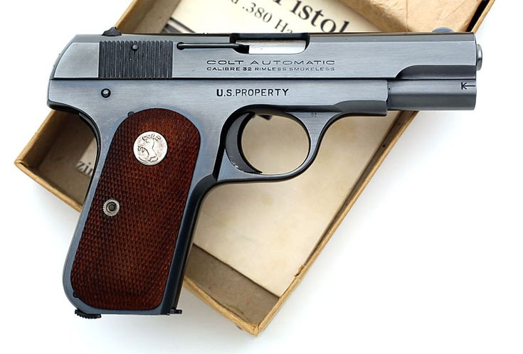 colt 1903 pocket hammerless 32 acp serial number 560354 right side ...
