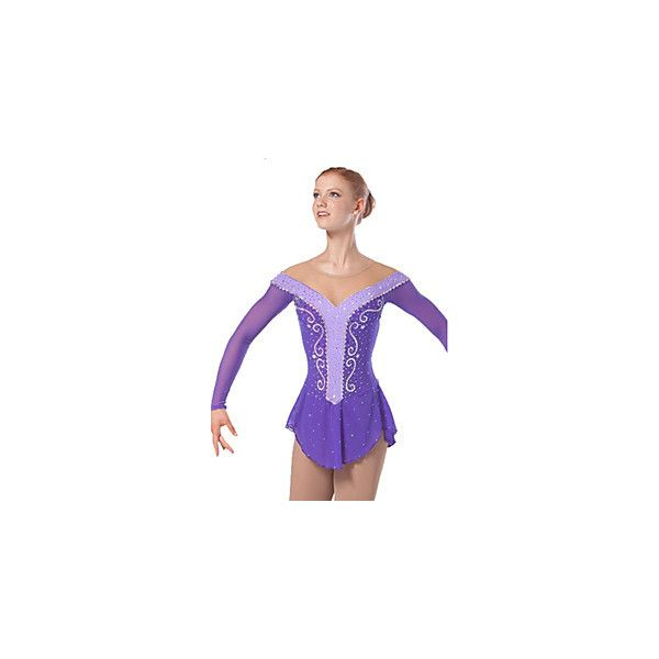 [$236.99] Robe de Patinage Femme / Enfant Manches longues Patinage... ❤ liked on Polyvore featuring intimates, robes, petite bathrobe, petite robes, dressing gown and bath robes