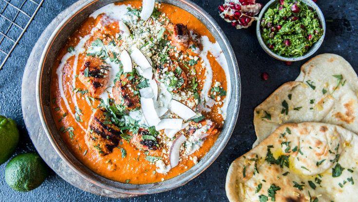 Mild og aromatisk indisk currysaus