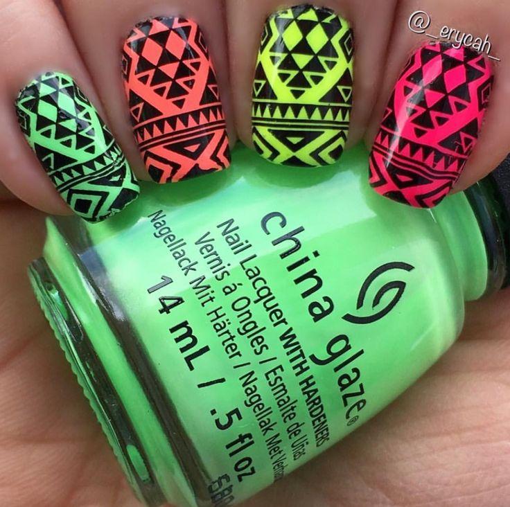 Mejores 10 imágenes de Leopard nails en Pinterest | Uñas de leopardo ...