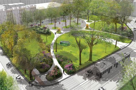 Buro Sant en Co landschapsarchitectuur - Frederik Hendrik Plantsoen