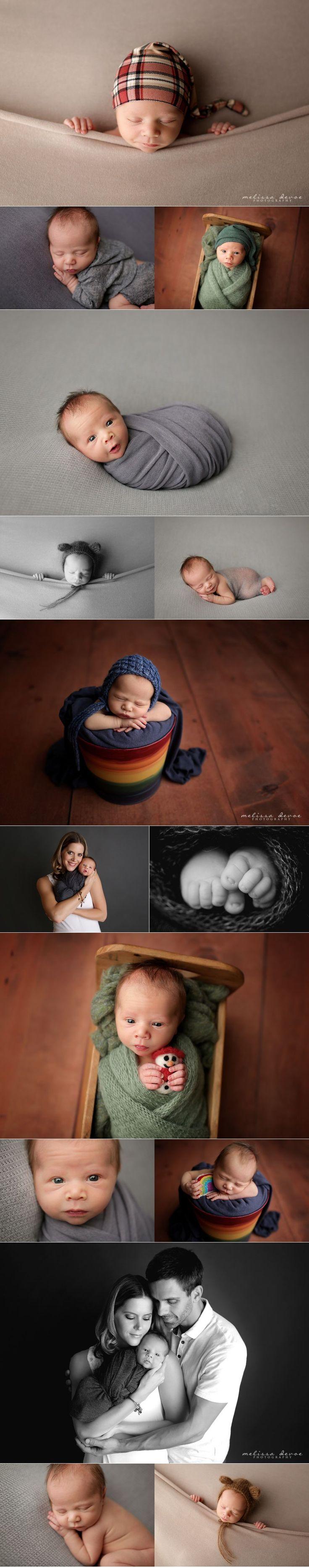 Rainbow Baby and Christmas Baby Photography Melissa DeVoe Photography Raleigh NC Newborn Photographer