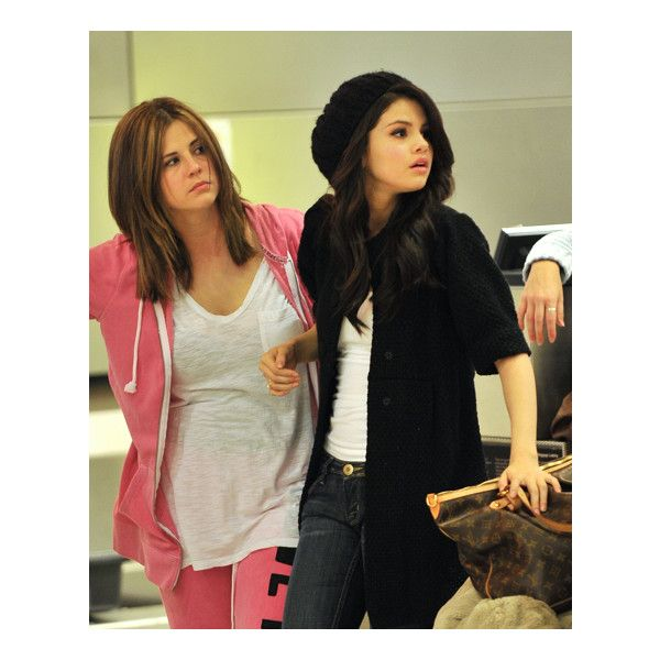 Selena Gomez Daily ❤ liked on Polyvore featuring selena gomez, selena, celebrities, friends and me