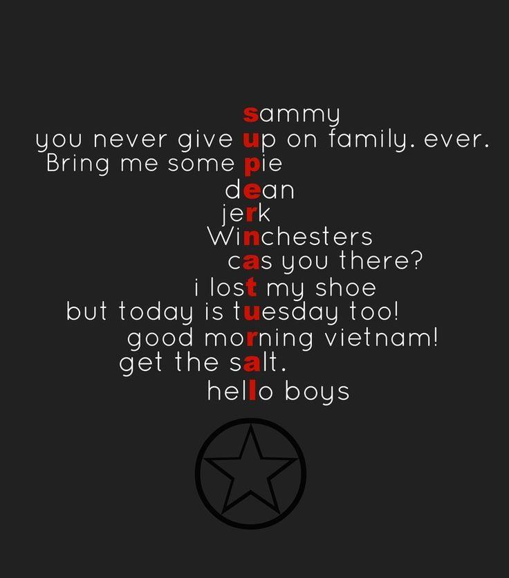 Afbeeldingsresultaat voor supernatural funny quotes