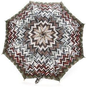 Missoni Vintage zig zag print umbrella