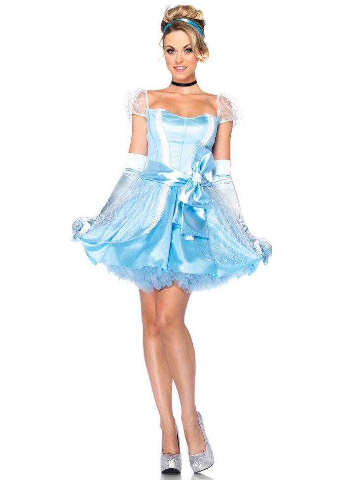 Disney Princesses Glass Slipper Cinderella Adult Costume