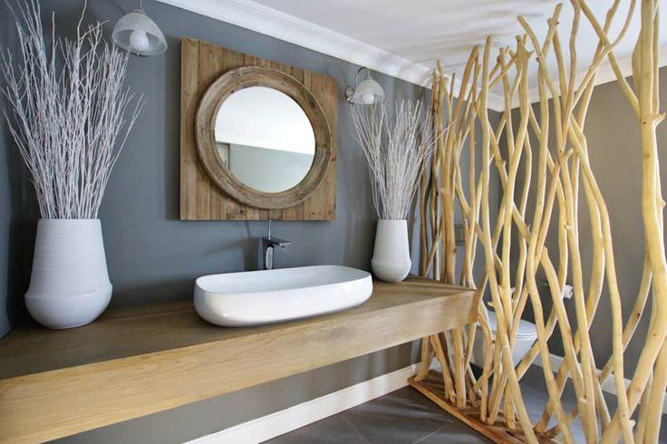Casas de banho rústicas por JSD Interiors