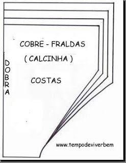 T E M P O D E V I V E R B E M: COBRE FRALDAS - CALCINHA
