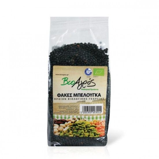 biotrofi.gr- Φακές Μαύρες Beluga 500γρ Βιοαγρός Bio